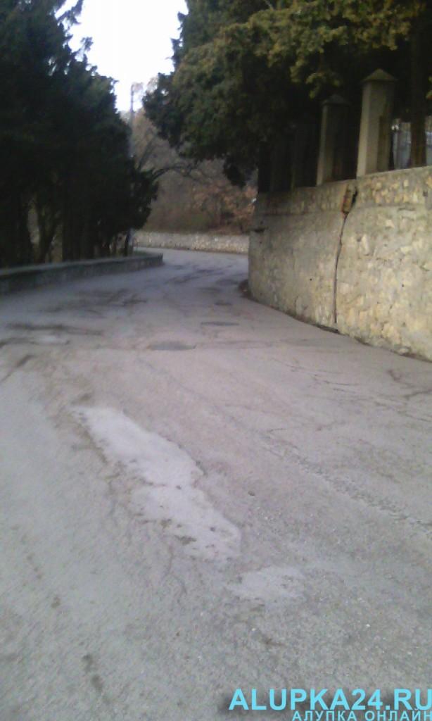 Дороги в Алупке 4