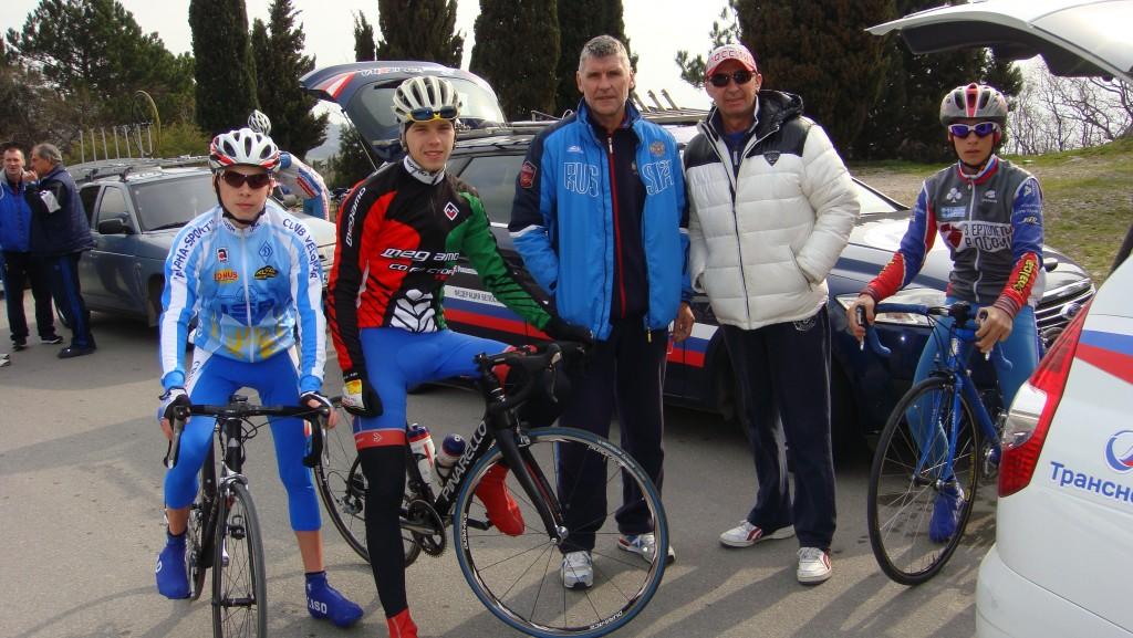Первенство России по велосипедному спорту в Алупке