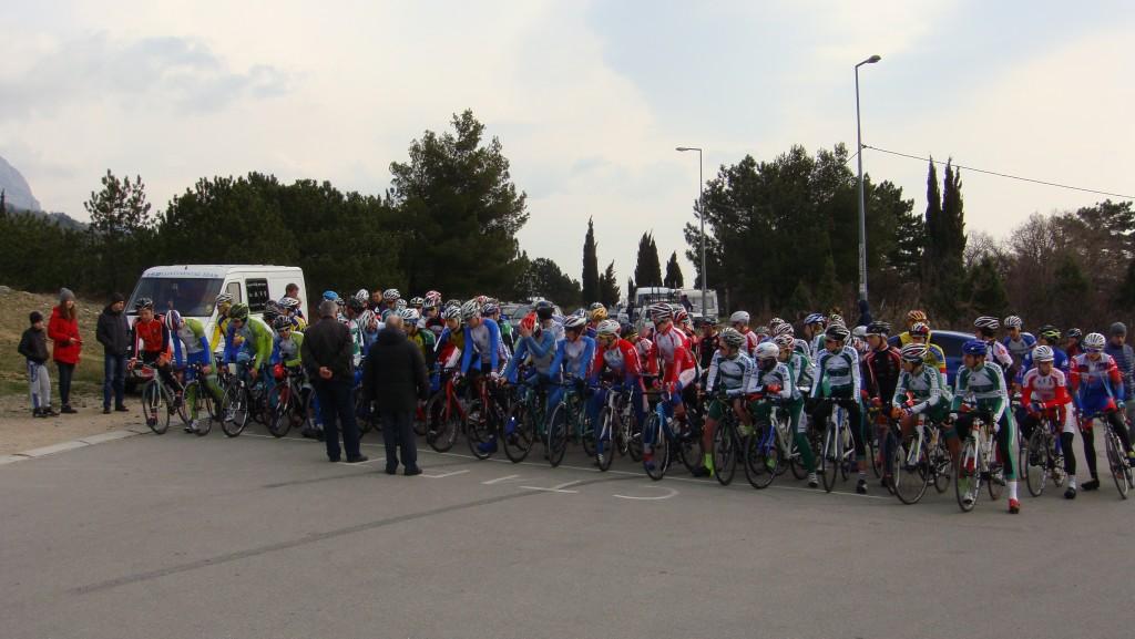 Открытие чемпионата и первенства России по велосипедному спорту в Алупке