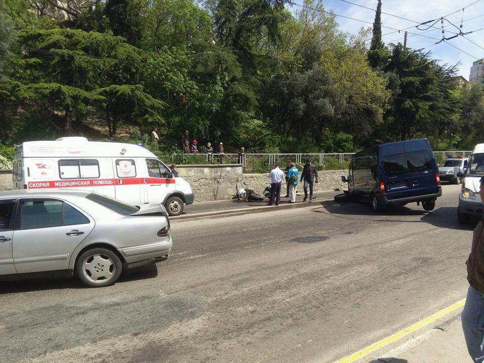 ДТП в Массандре 24 апреля: мотоциклист Геннадий Будник погиб на месте