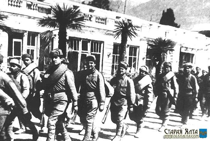 День освобождения Алупки и Ялты