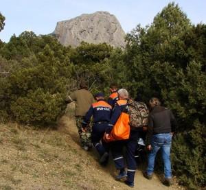 На плато Ай-Петри упал парапланерист из Ялты