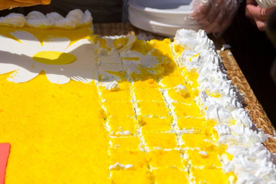 Пасхальный торт в Ялте 2