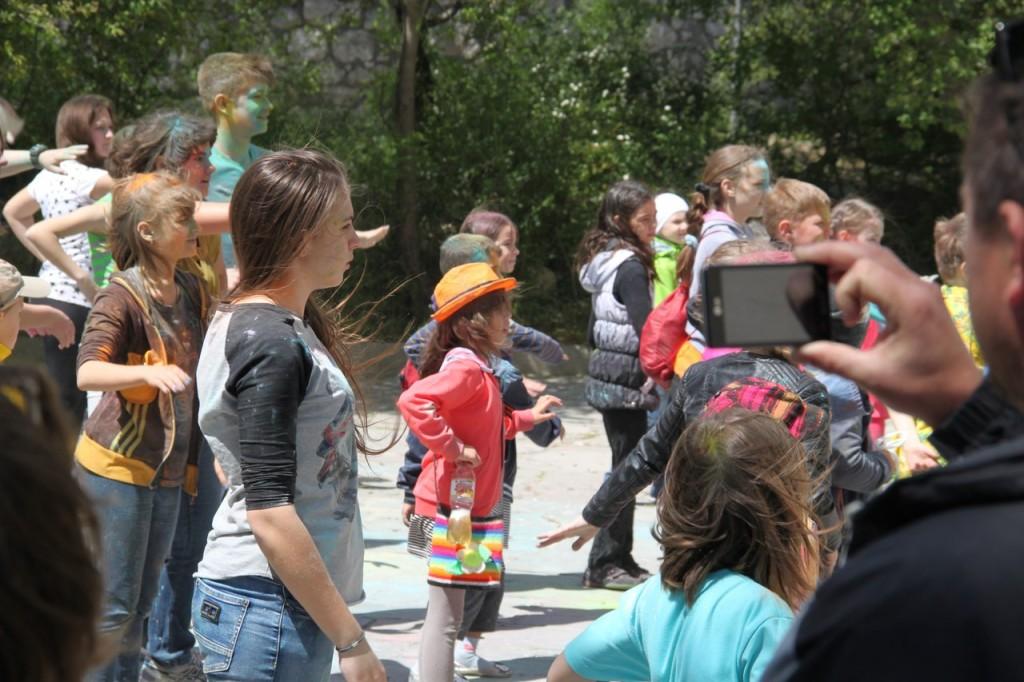 На фестивале красок в Алупке 6
