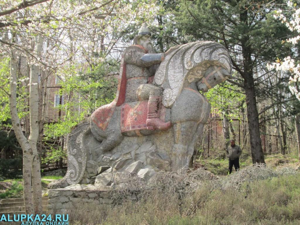 Экспонат Поляны сказок в Ялте