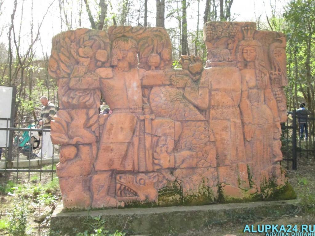 Экспонат Поляны сказок в Ялте 5