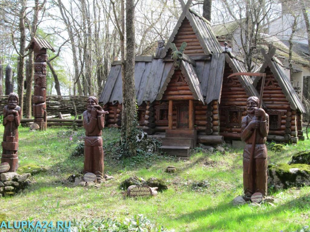 Экспонат Поляны сказок в Ялте 6