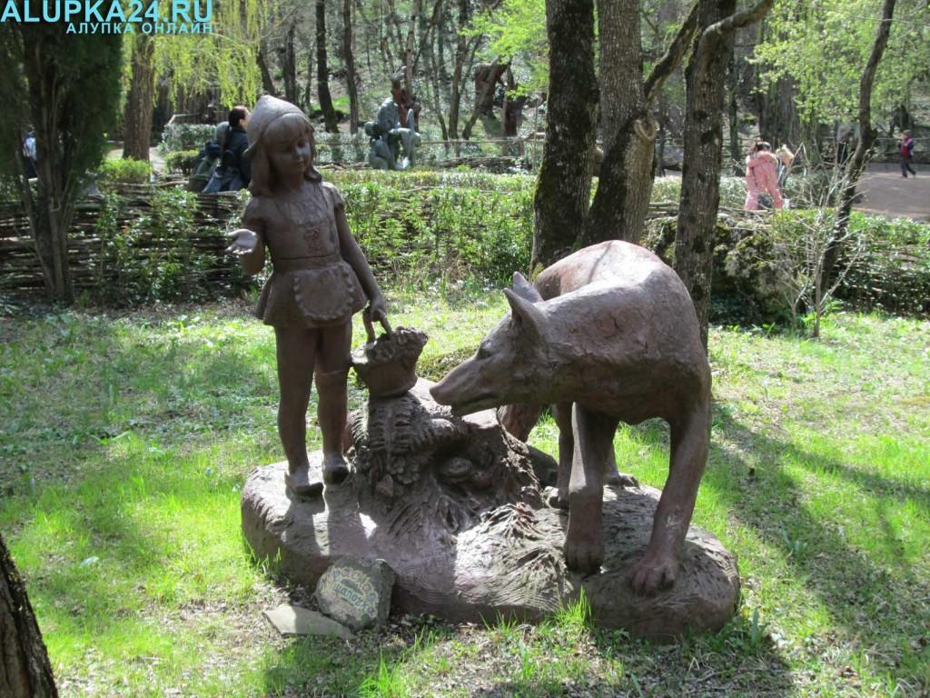 Экспонат Поляны сказок в Ялте 7