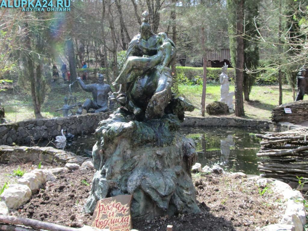 Экспонат Поляны сказок в Ялте 9