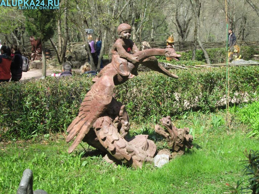 Экспонат Поляны сказок в Ялте 15