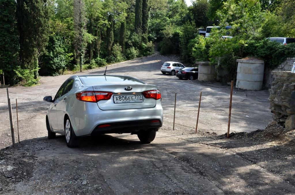 Новая парковка возле Ливадийского дворца устранит транспортные неудобства 2