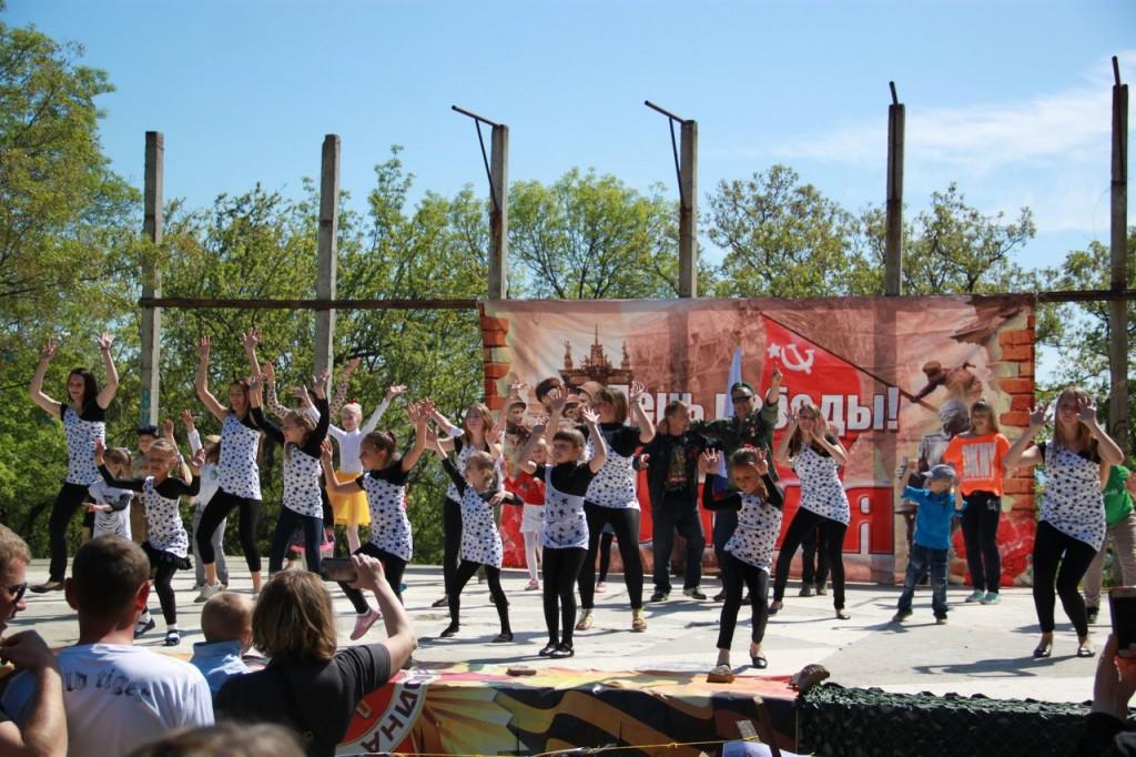 Концерт на День Победы в Милютинском парке 2