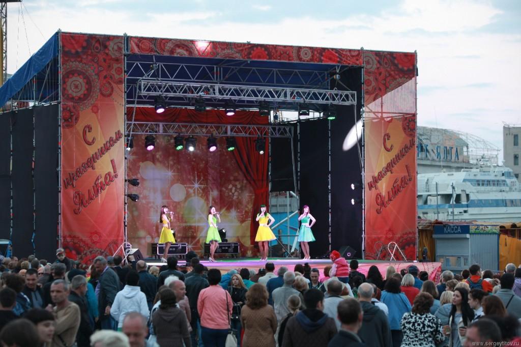 Открытие курортного сезона  2016 в Ялте