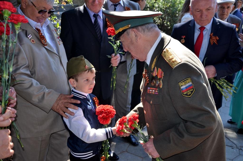 В Ялте отметили День Победы 7
