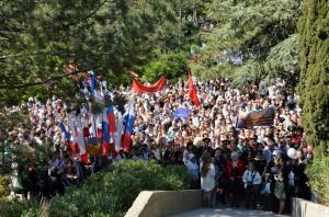 День Победы в Ялте 9 мая 2016 года