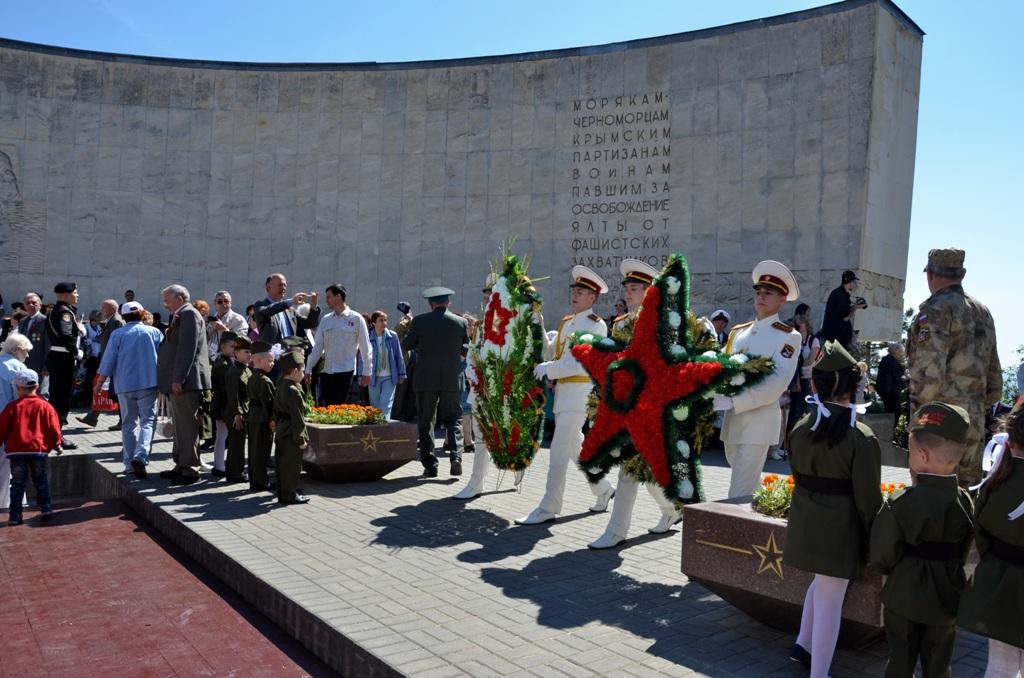 В Ялте отметили День Победы 5