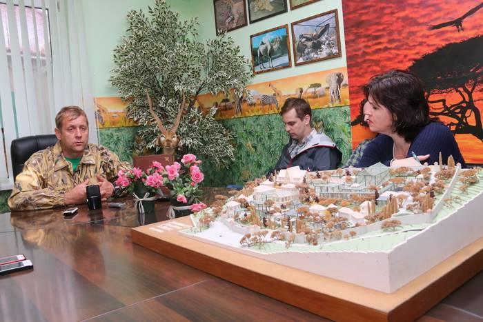 Руководство «Сказки» совместно с властями Ялты отреставрирует вход в зоопарк