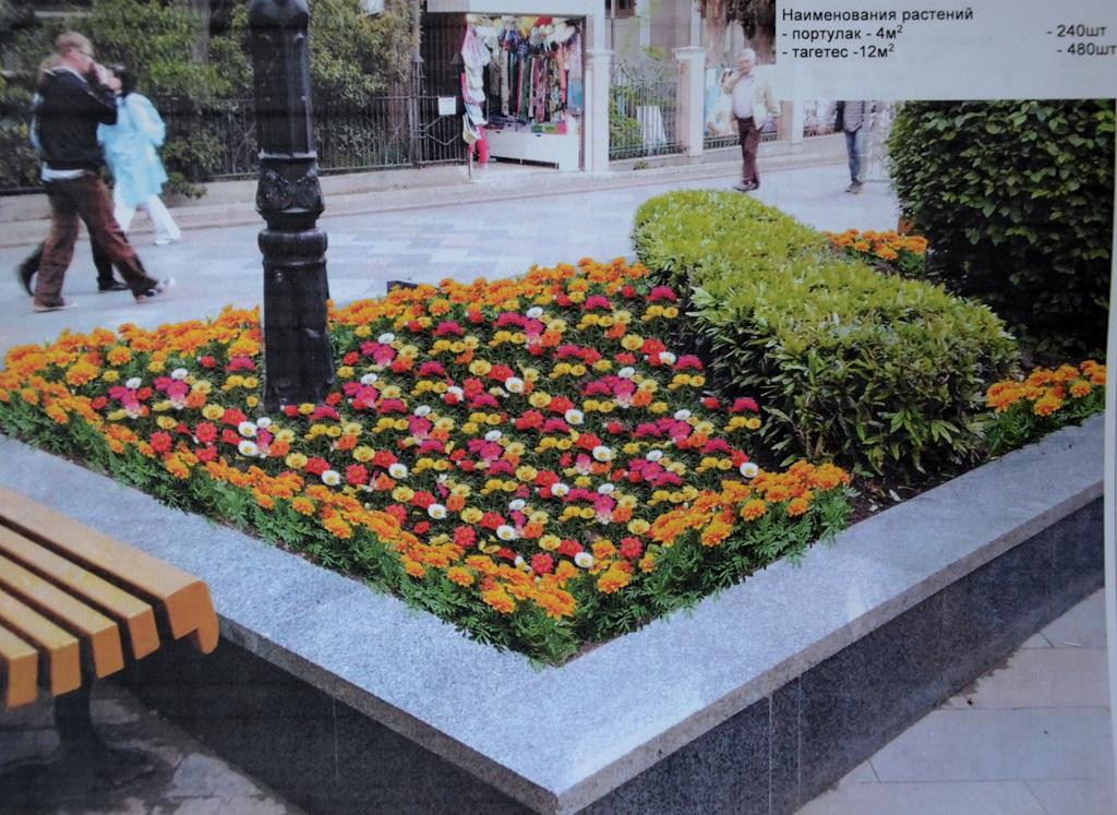 Большую Ялту озеленят цветочными клумбами 4