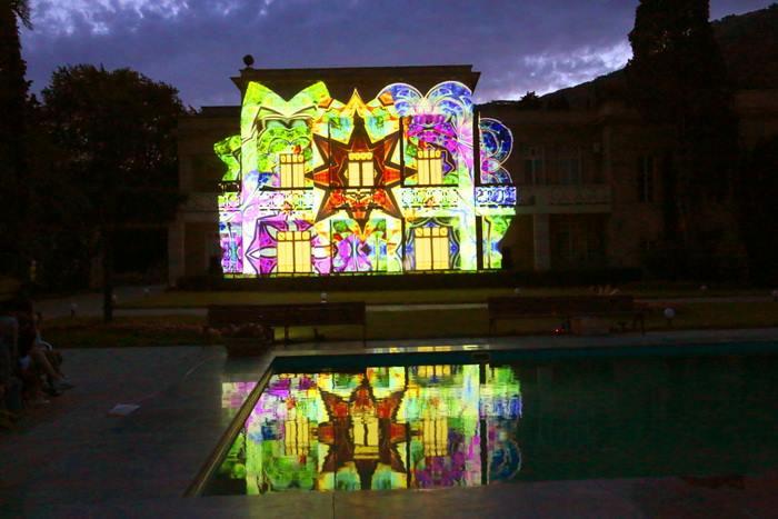 3D шоу в Никитском ботаническом саду 5