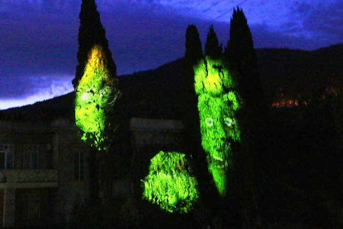 3D шоу в Никитском ботаническом саду 6