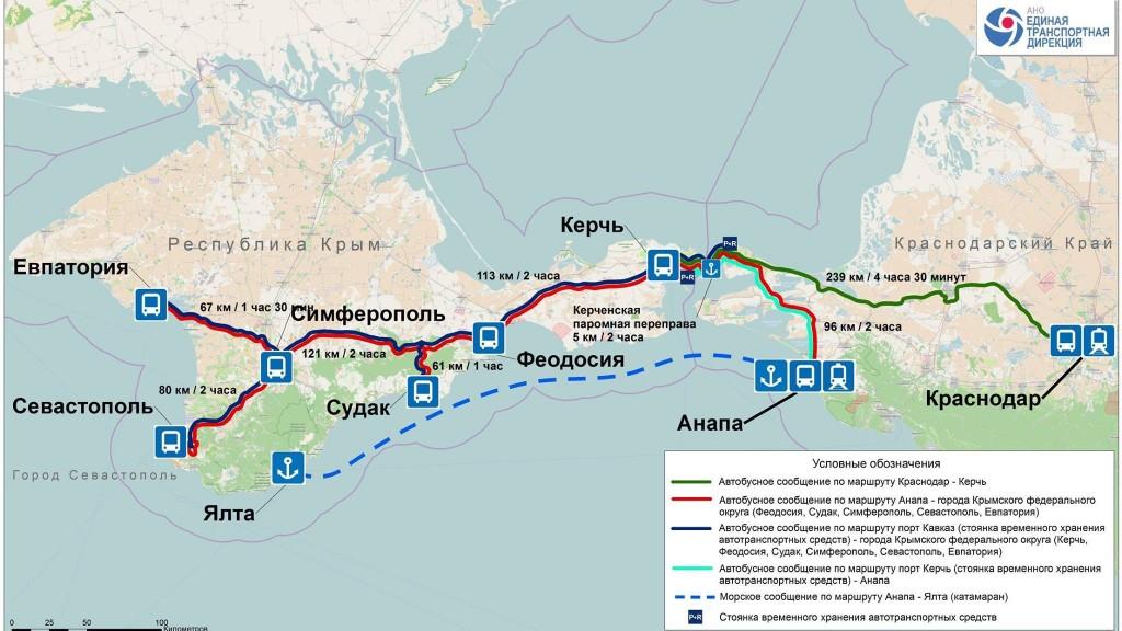 Поездка в Крым по «Единому билету»