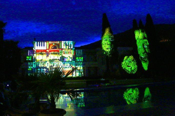 В Никитском ботаническом саду покажут проекционное ночное 3D шоу