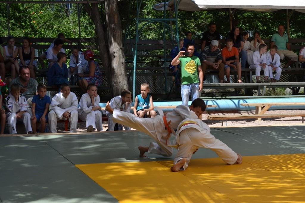 В Гаспре стартовал турнир по дзюдо «Крымский сувенир»
