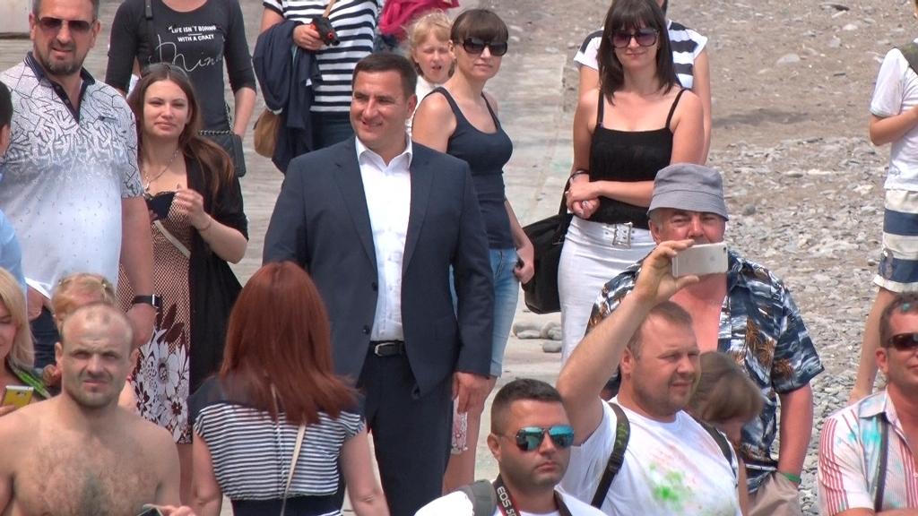 Андрей Ростенко фестивале красок в Ялте