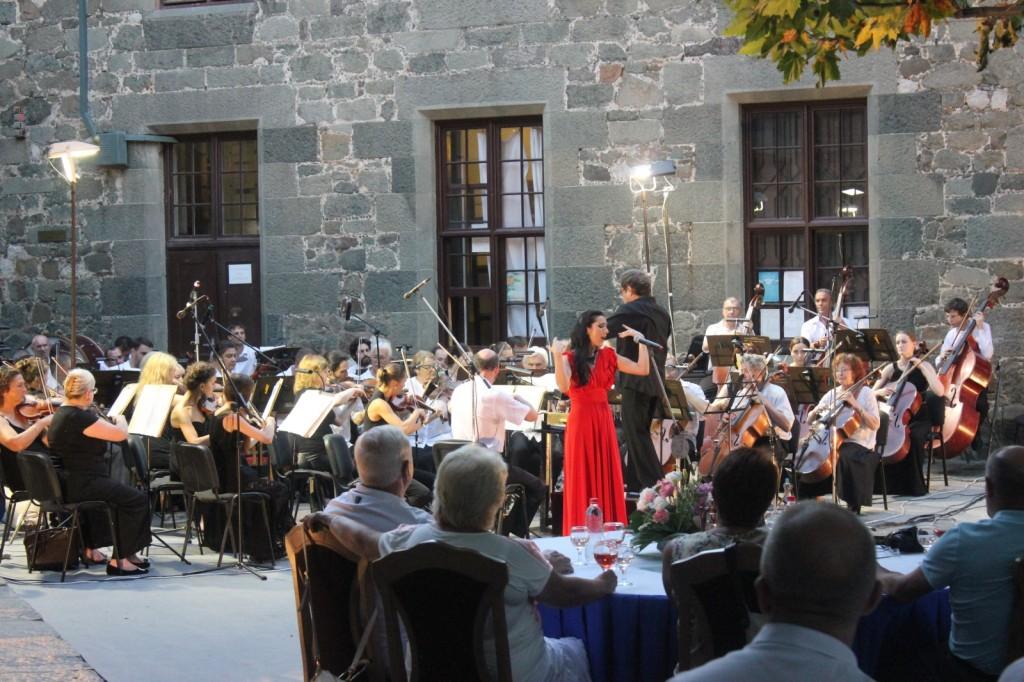 В Алупке состоялся вечер симфонической музыки «Под сенью воронцовского платана» 3