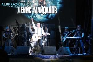 в Ялте состоялся концерт в честь Дня Военно-морского флота России