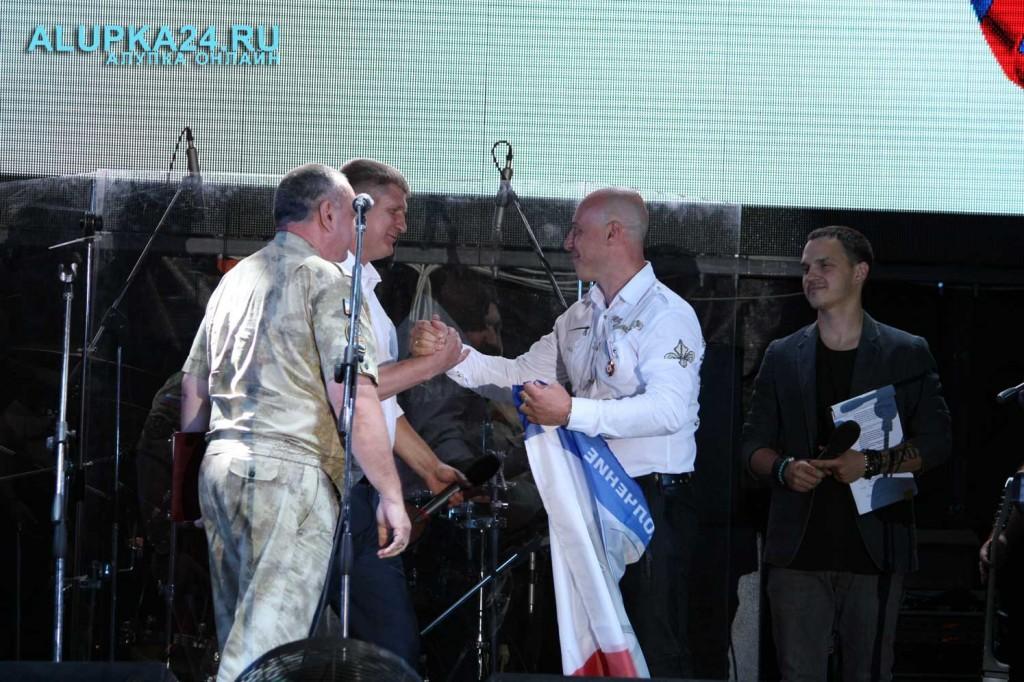 Награждение Дениса Майданова