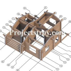 Заказать проект деревянного дома или бани