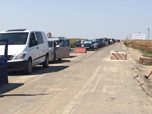 Ситуация на границе Крыма и Украины 12 августа 2016 года