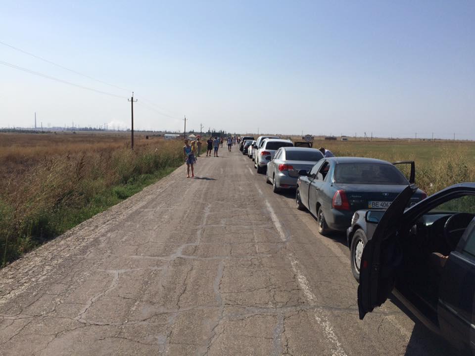 Ночью на границе Украины с Крымом была перестрелка