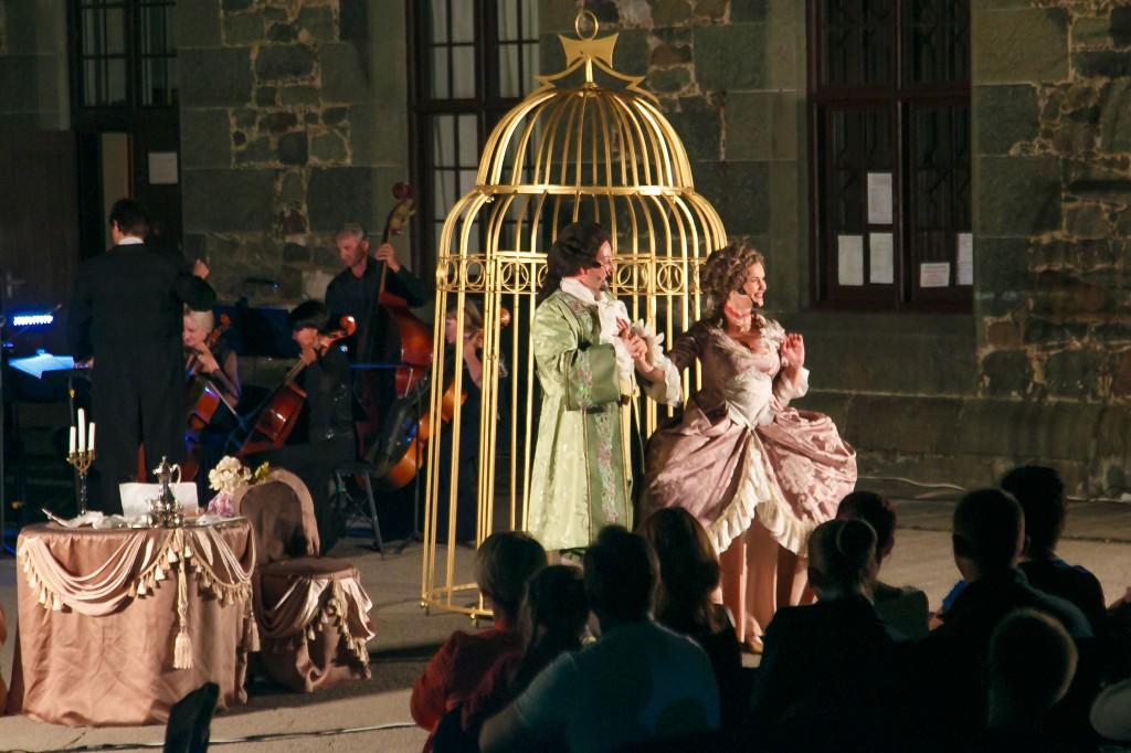 Постановка итальянской оперы «Служанка-госпожа» 3