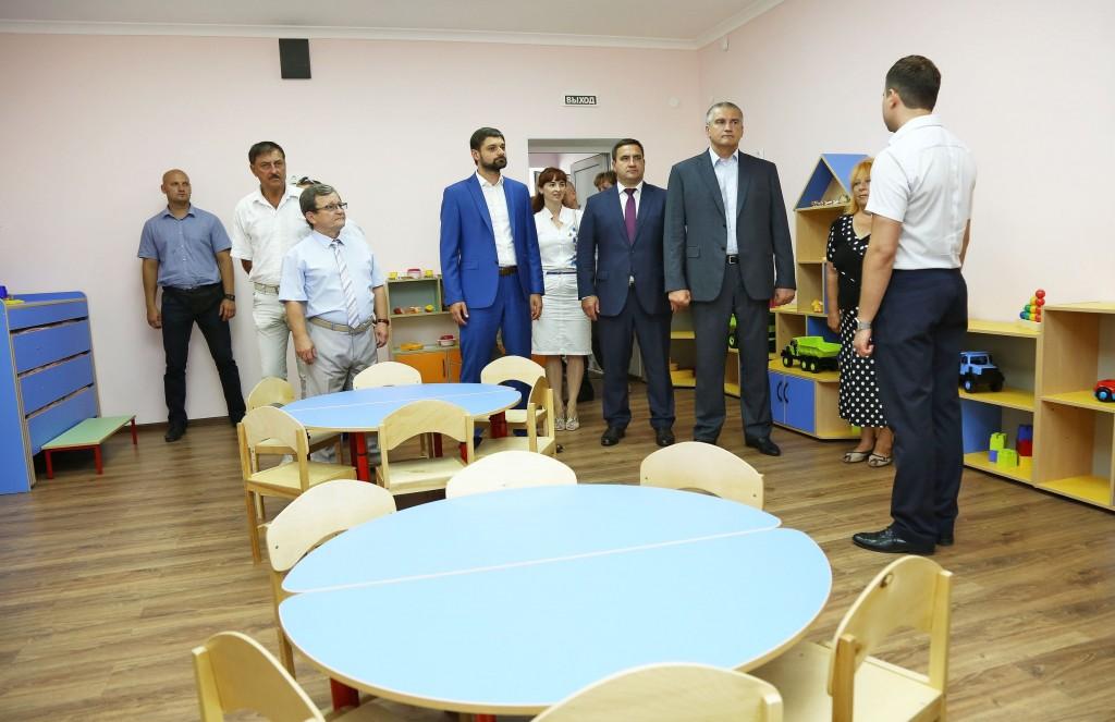 В Кацивели и Ливадии открыли два новых детских сада