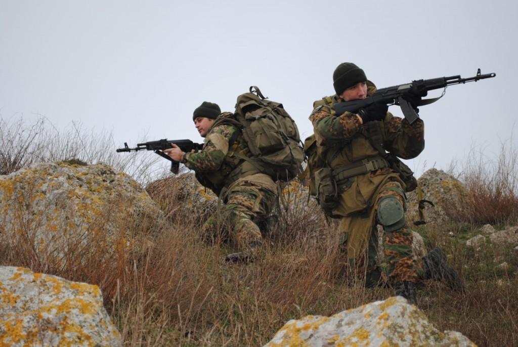 Украинская диверсионная группа пыталась прорваться в Крым, поиск украинских диверсантов