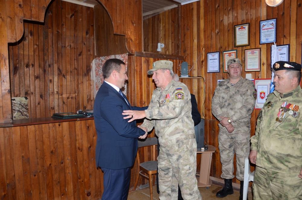 В Ялте открылся штаб Народного ополчения