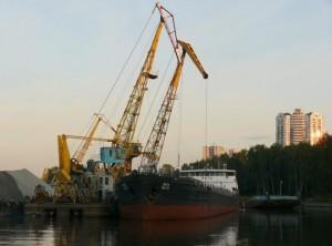 В Ливадии затонул плавкран: обвинили директора филиала «Морспасслужба Росморречфлота»