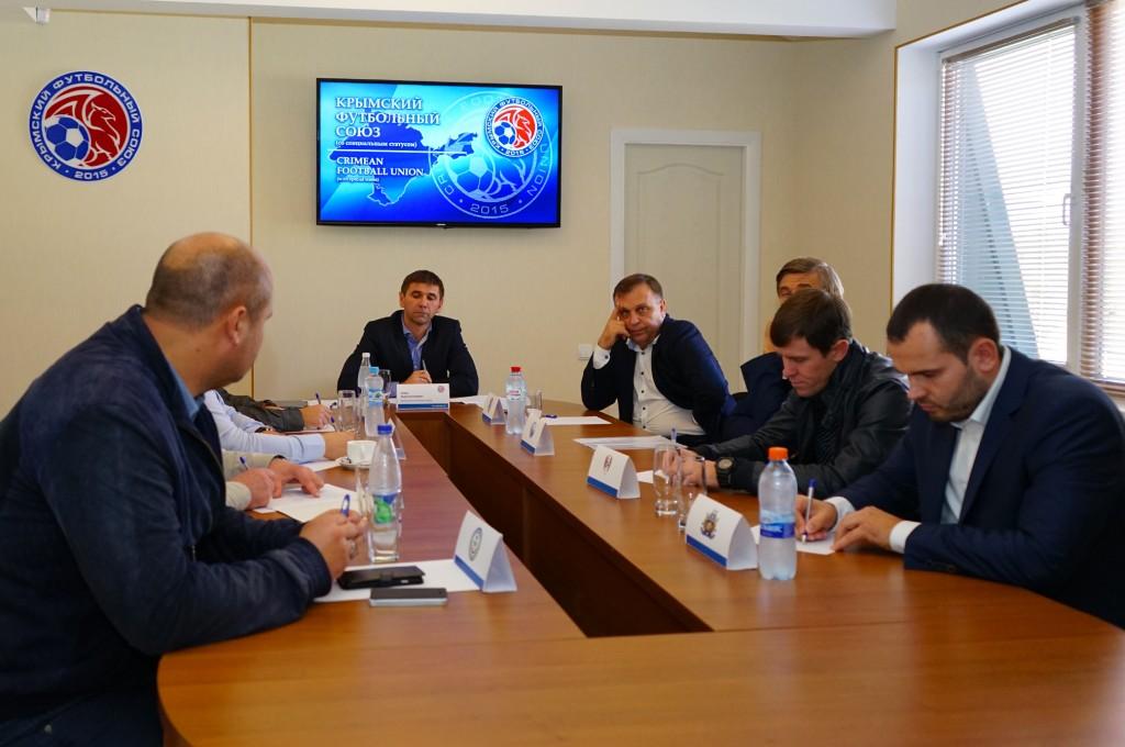 Сборная Крыма по футболу может появиться в республике