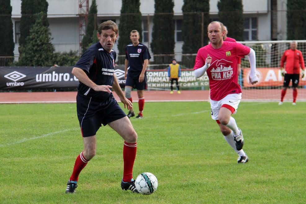 В Ялте стартовал «Кубок Федерации» по футболу