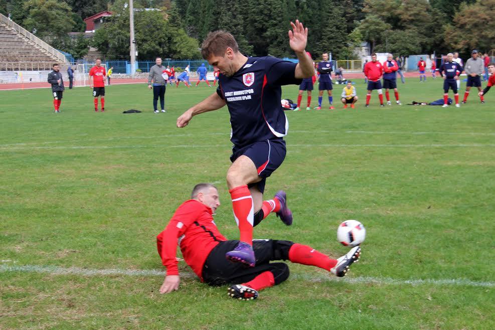В Ялте стартовал «Кубок Федерации» по футболу 3
