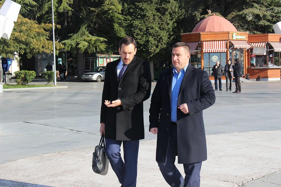 Александр Спиридонов и Андрей Ростенко