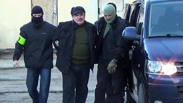 ФСБ задержала в Севастополе украинского шпиона Леонида Пархоменко