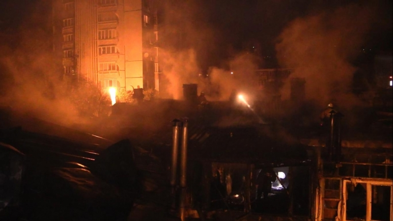 Пожар в Ялте лишил жилья более 30 человек 2