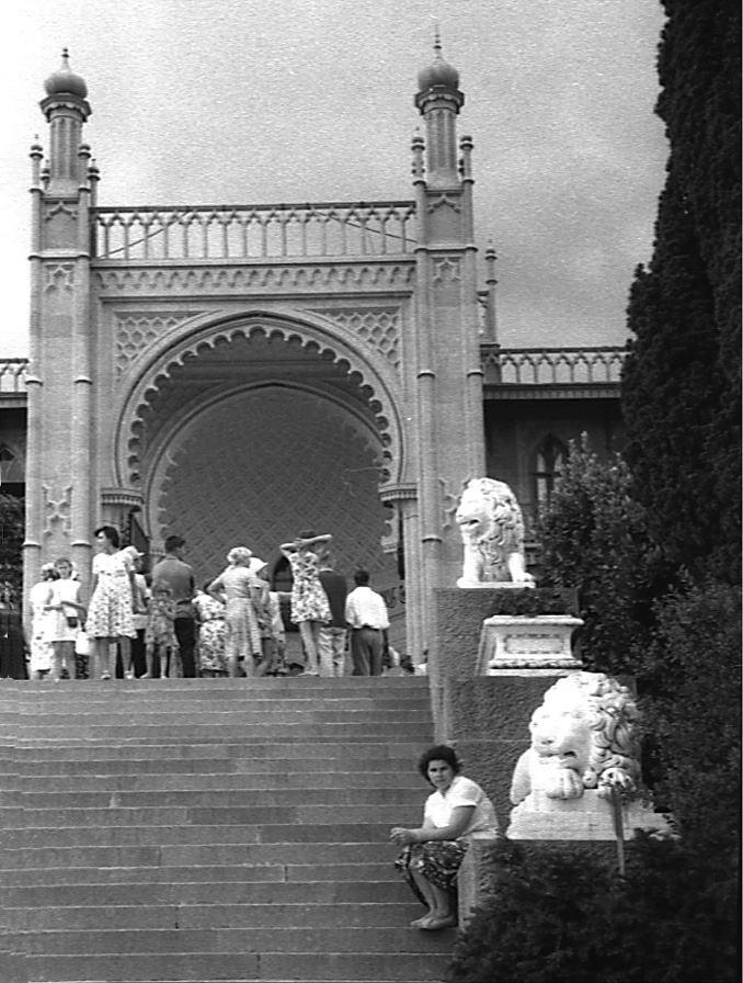 Старые фото Воронцовского дворца в Алупке 3