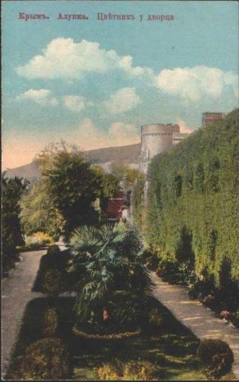 Старые фото Воронцовского дворца в Алупке 9