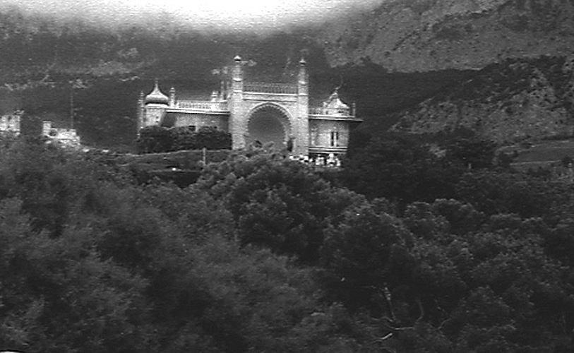 Старые фото Воронцовского дворца в Алупке 2