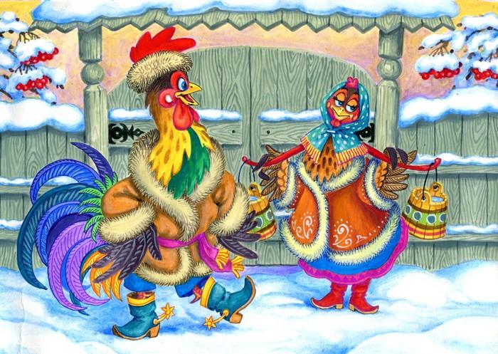 В чём встречать Новый год петуха 2017 и что готовить на праздничный стол