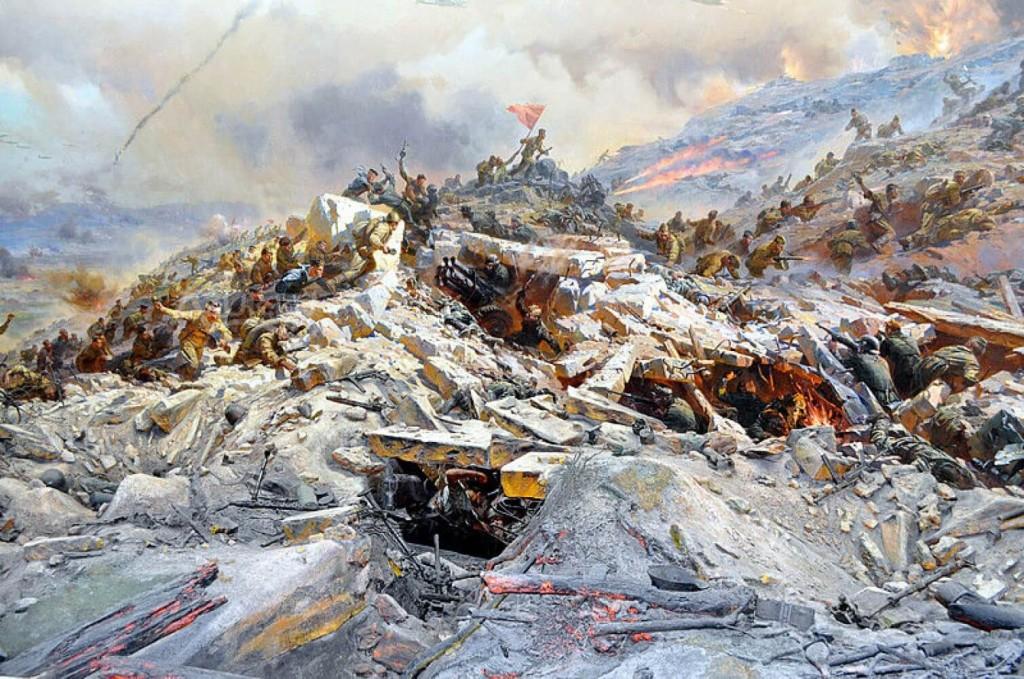 Диорама «Штурм Сапун-горы»